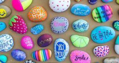 Teen Rock Painting! | Wauseon Public Library